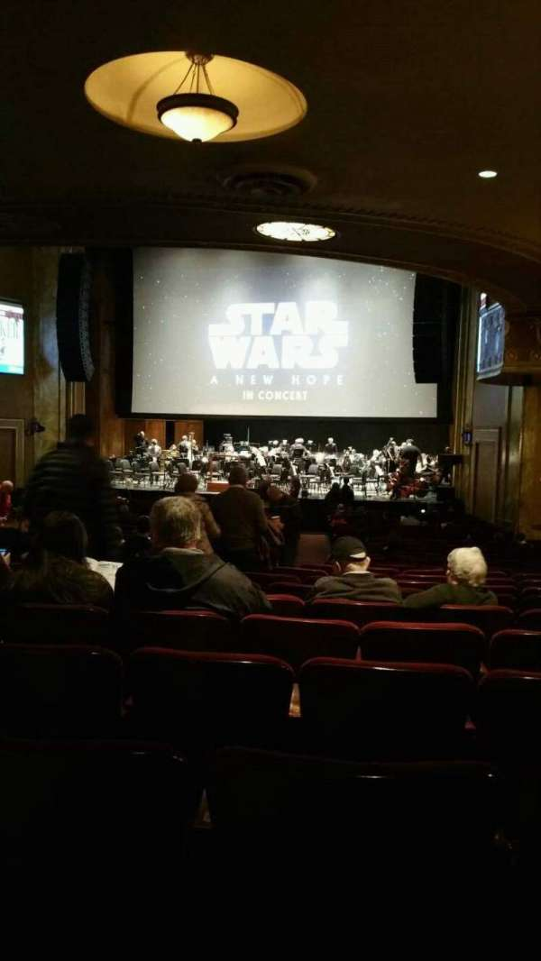 State Theatre New Jersey, section: Orchestra, row: AA, seat: 10