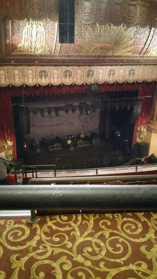 Beacon Theatre, section: Upper Balcony 1, row: F, seat: 23