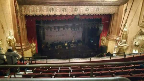 Beacon Theatre, section: Upper Balcony 1, row: F, seat: 19