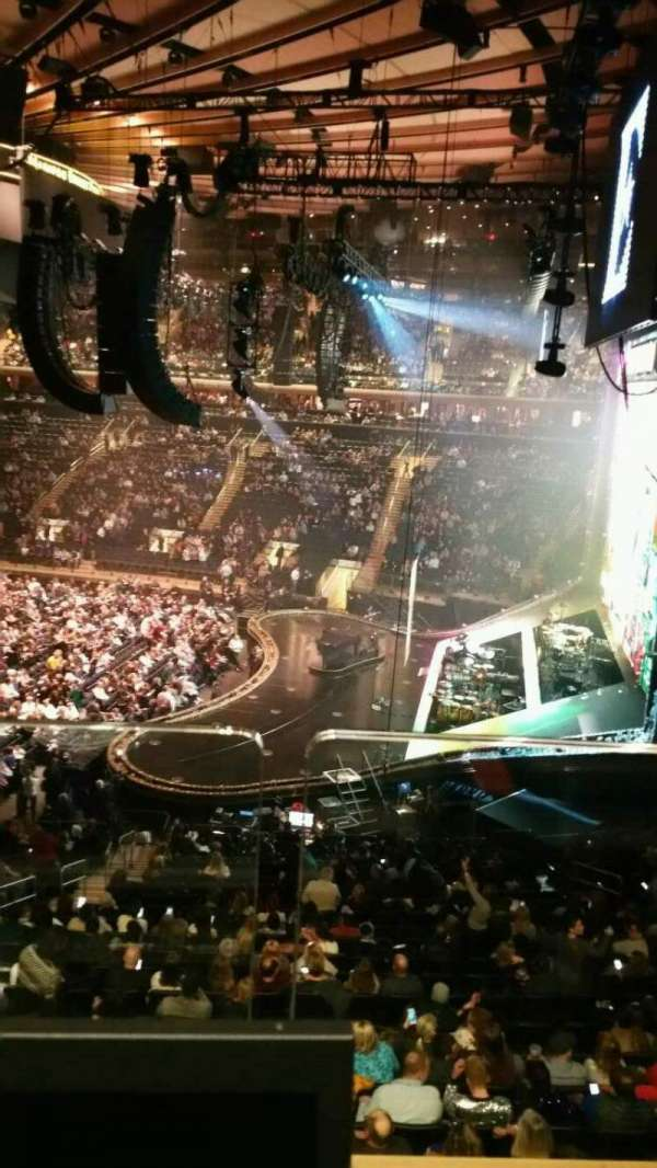 Madison Square Garden, section: 213, row: 1, seat: 11