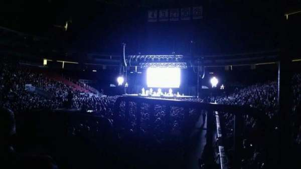 Prudential Center, section: 4, row: 3, seat: 2