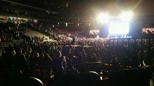 Prudential Center, section: 4, row: 3, seat: 3