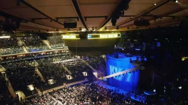 Madison Square Garden, section: 311, row: 1, seat: 5
