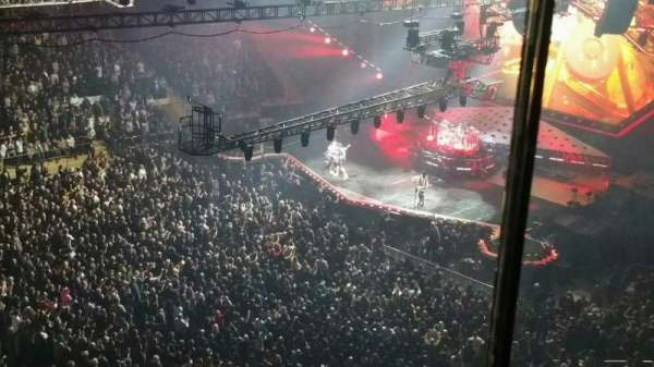 Madison Square Garden, section: 311, row: 1, seat: 6
