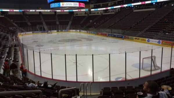 Giant Center, section: 125, row: M, seat: 12