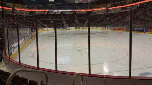 Giant Center, section: 125, row: E, seat: 7