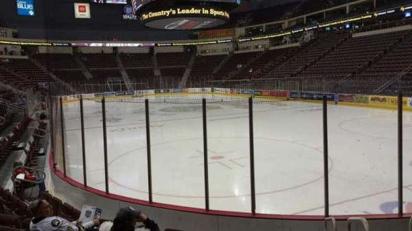 Giant Center, section: 124, row: G, seat: 1