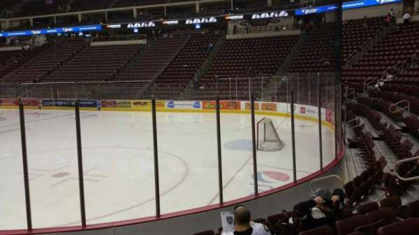 Giant Center, section: 124, row: G, seat: 12
