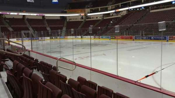 Giant Center, section: 122, row: D, seat: 7