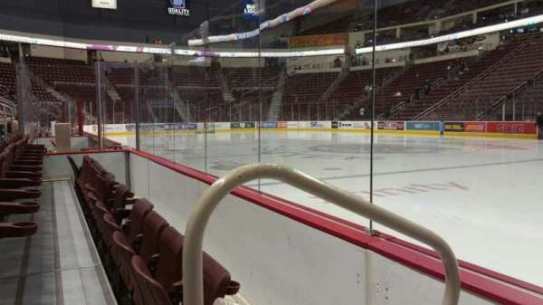 Giant Center, section: 122, row: B, seat: 13