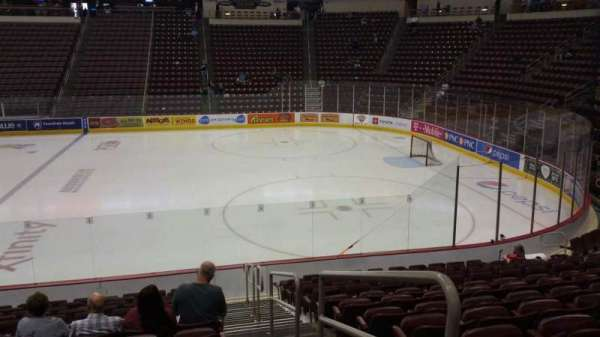 Giant Center, section: 121, row: N, seat: 1