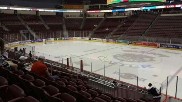 Giant Center, section: 121, row: N, seat: 9