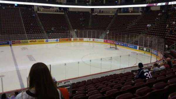 Giant Center, section: 121, row: N, seat: 20
