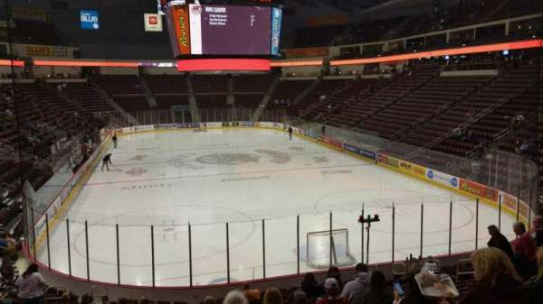 Giant Center, section: 126, row: S, seat: 14