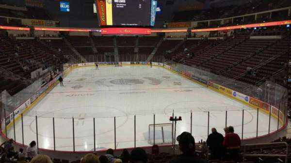 Giant Center, section: 126, row: S, seat: 8