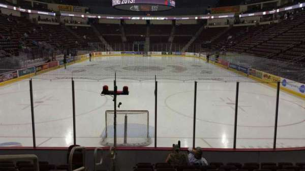 Giant Center, section: 101, row: J, seat: 11