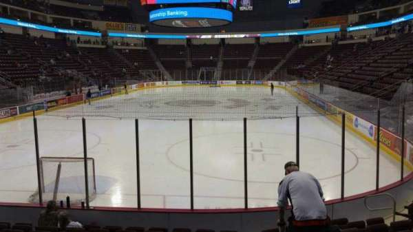 Giant Center, section: 101, row: J, seat: 1