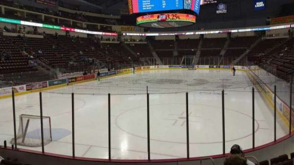 Giant Center, section: 102, row: J, seat: 6