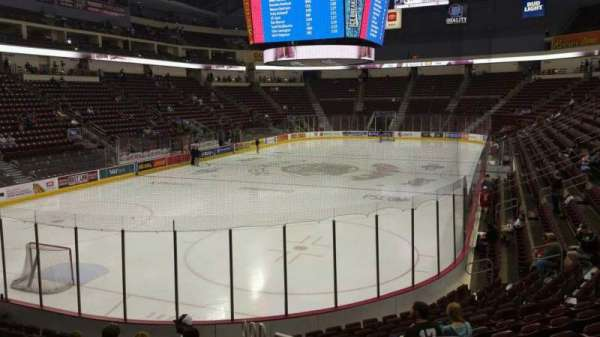 Giant Center, section: 102, row: N, seat: 1