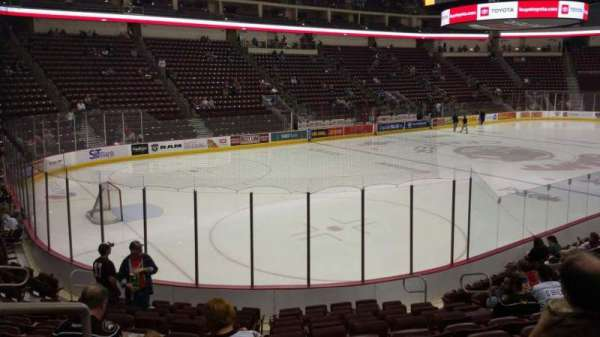 Giant Center, section: 104, row: M, seat: 12