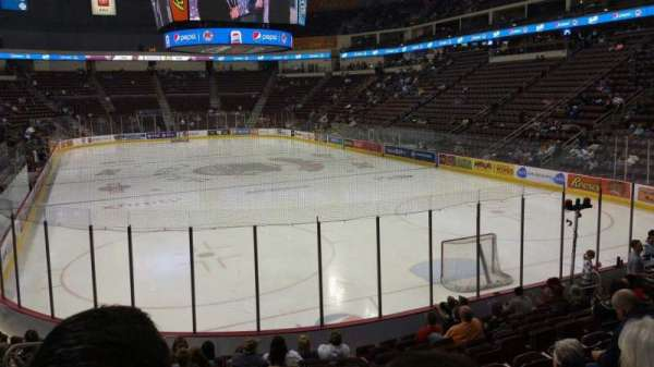 Giant Center, section: 125, row: M, seat: 5