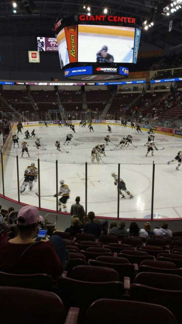 Giant Center, section: 125, row: L, seat: 6