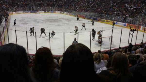 Giant Center, section: 125, row: M, seat: 7