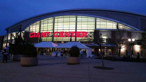 Giant Center, section: EXTERIOR