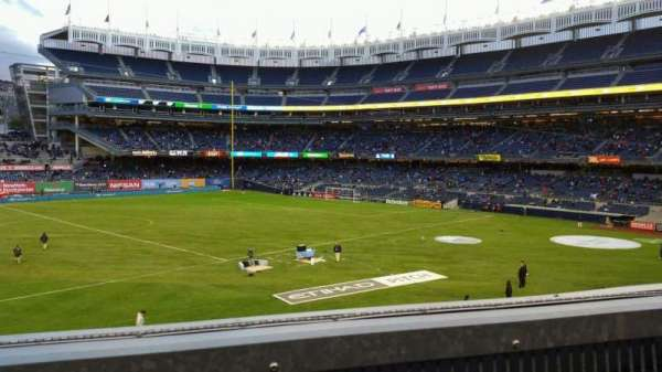 Yankee Stadium, section: 227B, row: 1, seat: 11