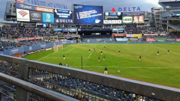 Yankee Stadium, section: 227B, row: 1, seat: 12