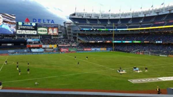 Yankee Stadium, section: 227B, row: 1, seat: 13