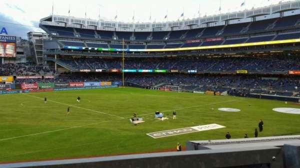 Yankee Stadium, section: 227B, row: 1, seat: 113