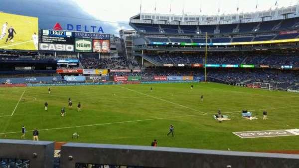 Yankee Stadium, section: 227B, row: 1, seat: 14