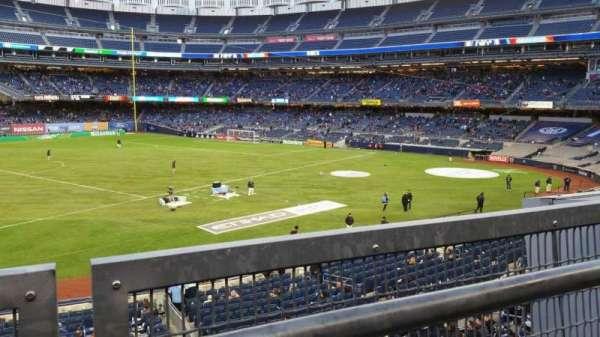 Yankee Stadium, section: 227B, row: 1, seat: 15
