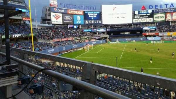 Yankee Stadium, section: 227B, row: 1, seat: 16