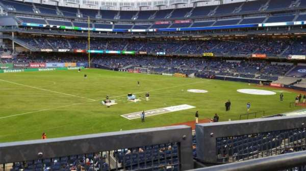 Yankee Stadium, section: 227B, row: 1, seat: 16