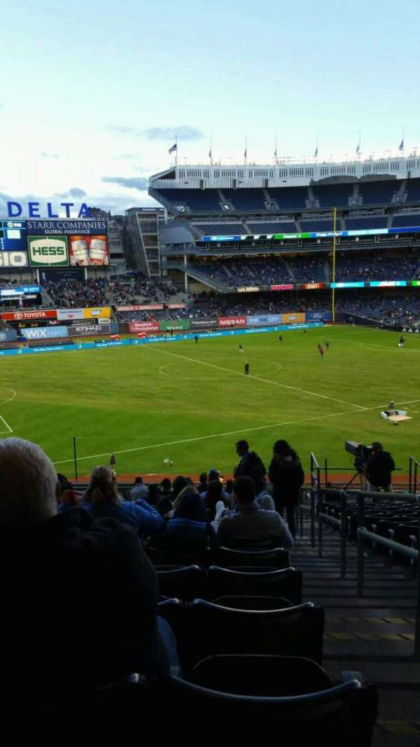 Yankee Stadium, section: 228, row: 19, seat: 1