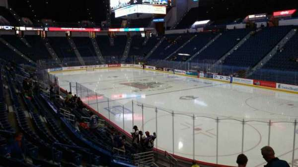 XL Center, section: 124, row: S, seat: 7