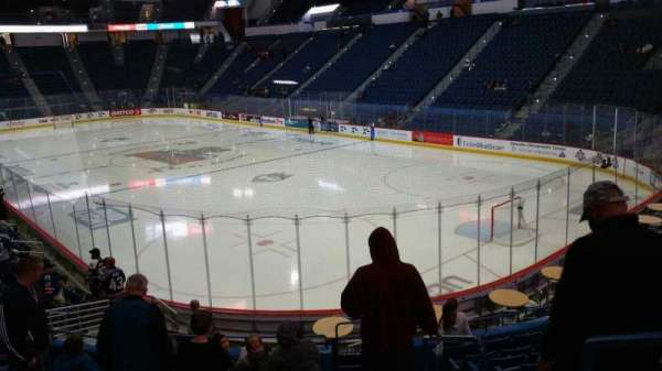 XL Center, section: 124, row: S, seat: 1