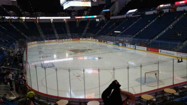 XL Center, section: 123, row: R, seat: 10