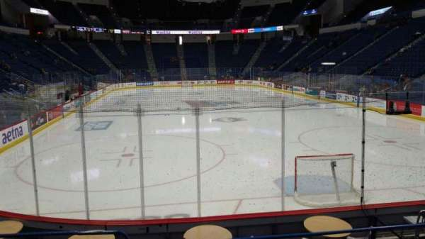 XL Center, section: 122, row: K, seat: 9