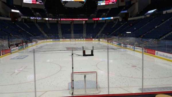 XL Center, section: 122, row: K, seat: 1