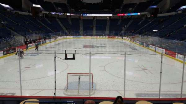 XL Center, section: 121, row: L, seat: 10