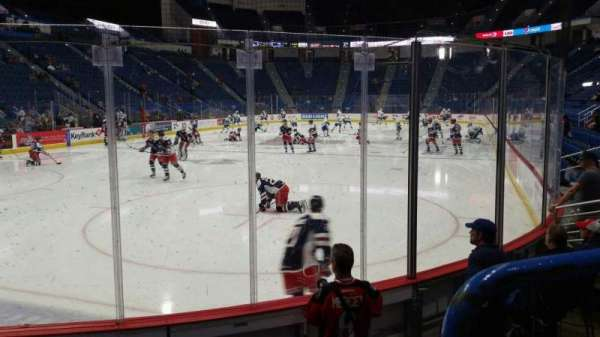 XL Center, section: 120, row: G, seat: 1