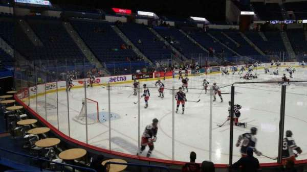 XL Center, section: 119, row: L, seat: 14