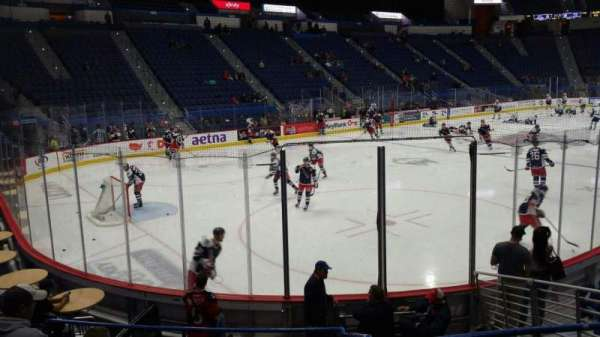 XL Center, section: 119, row: L, seat: 8