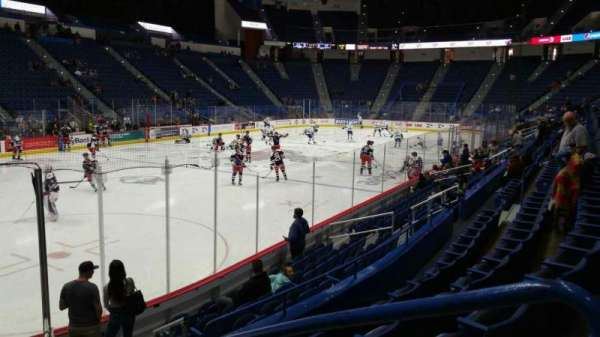 XL Center, section: 119, row: L, seat: 1