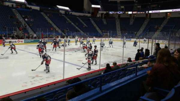 XL Center, section: 117, row: H, seat: 15