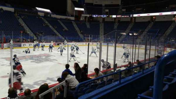 XL Center, section: 117, row: H, seat: 1