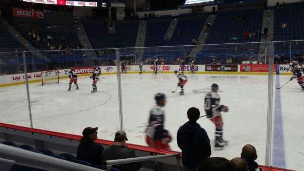 XL Center, section: 116, row: G, seat: 15